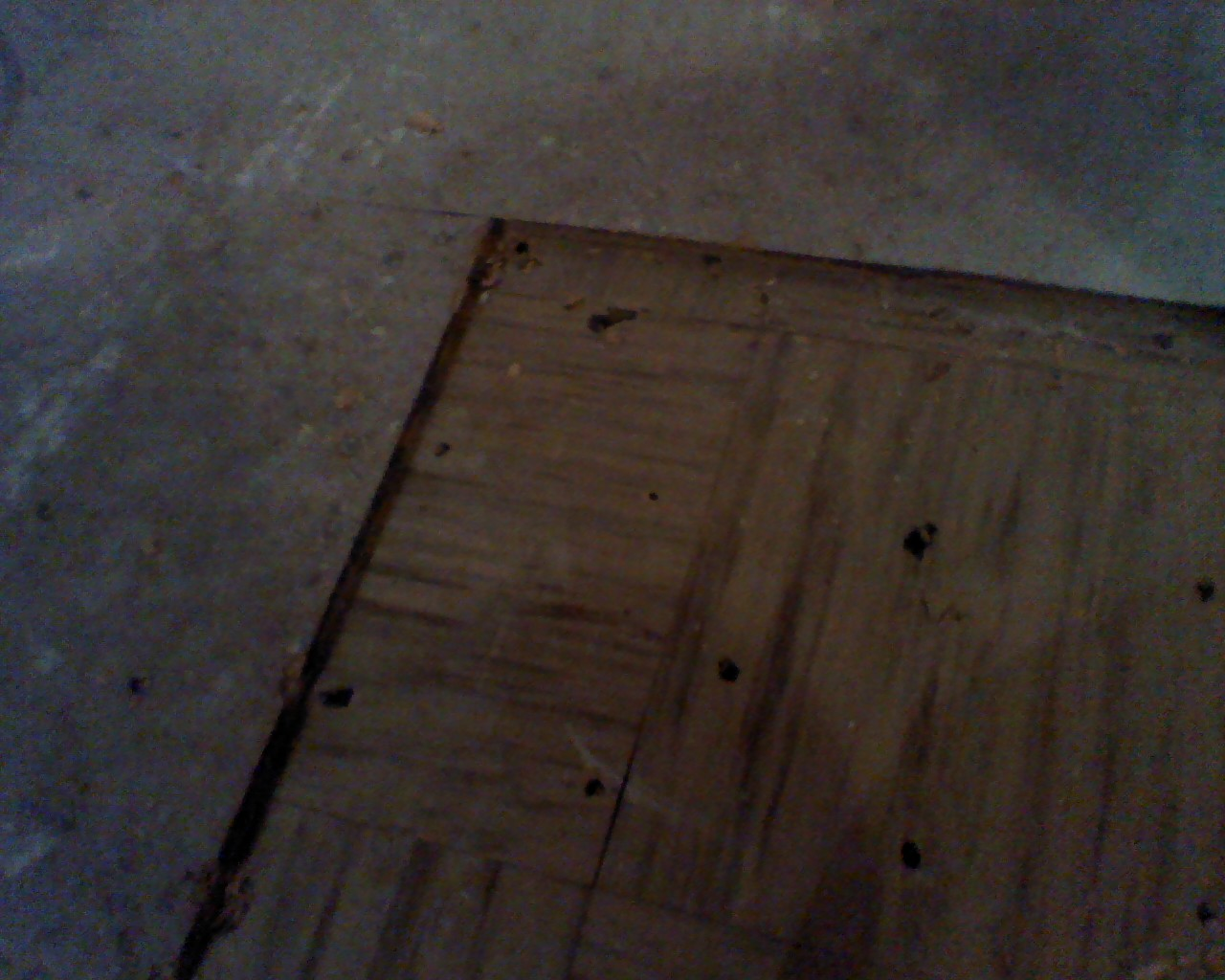Tile Under The Floor