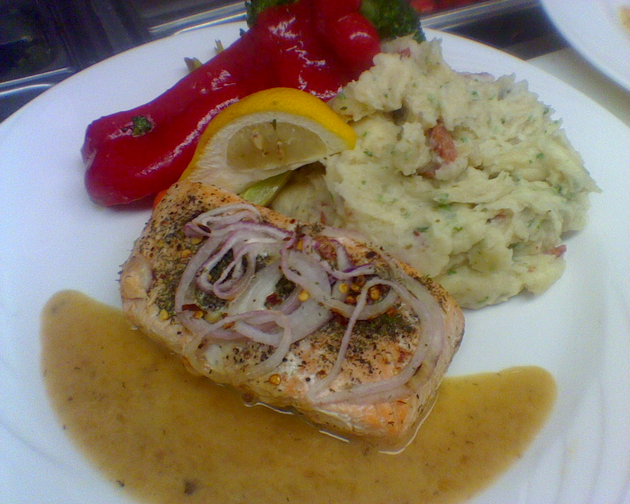 Lemon Salmon Special