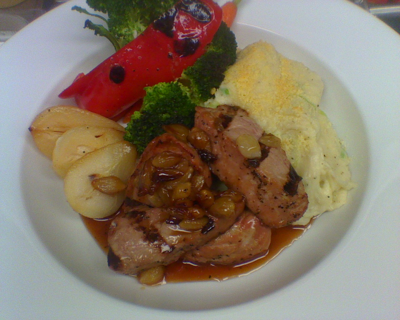 Pork Tenderloin With The New Mashed