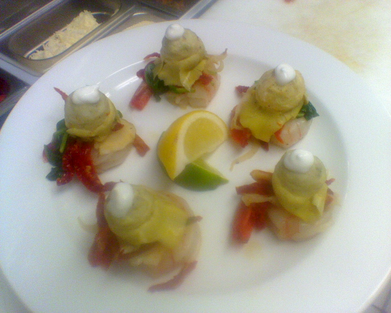 Tiger Prawns Different Plating 2