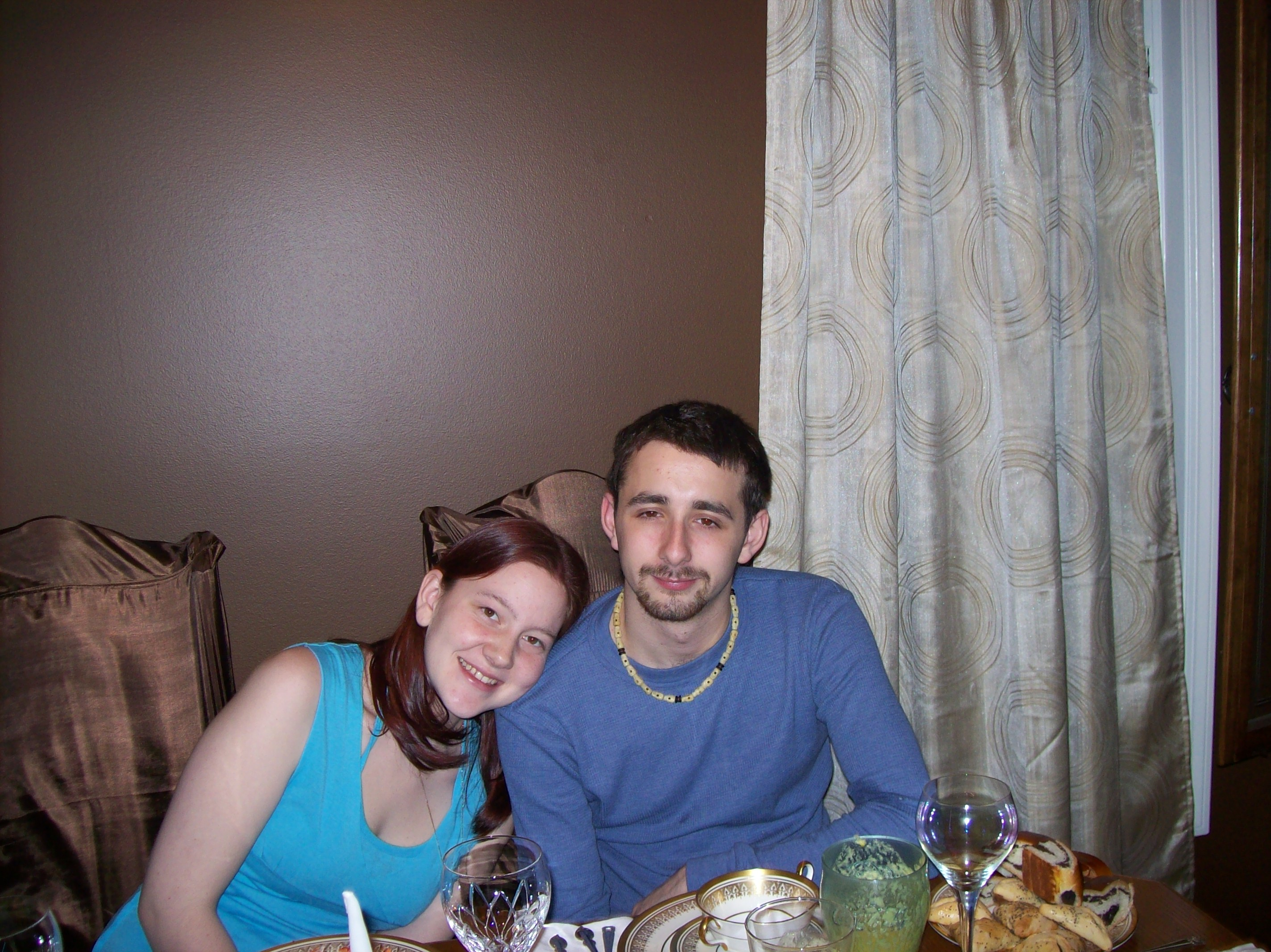 Diana And I At Dinner II