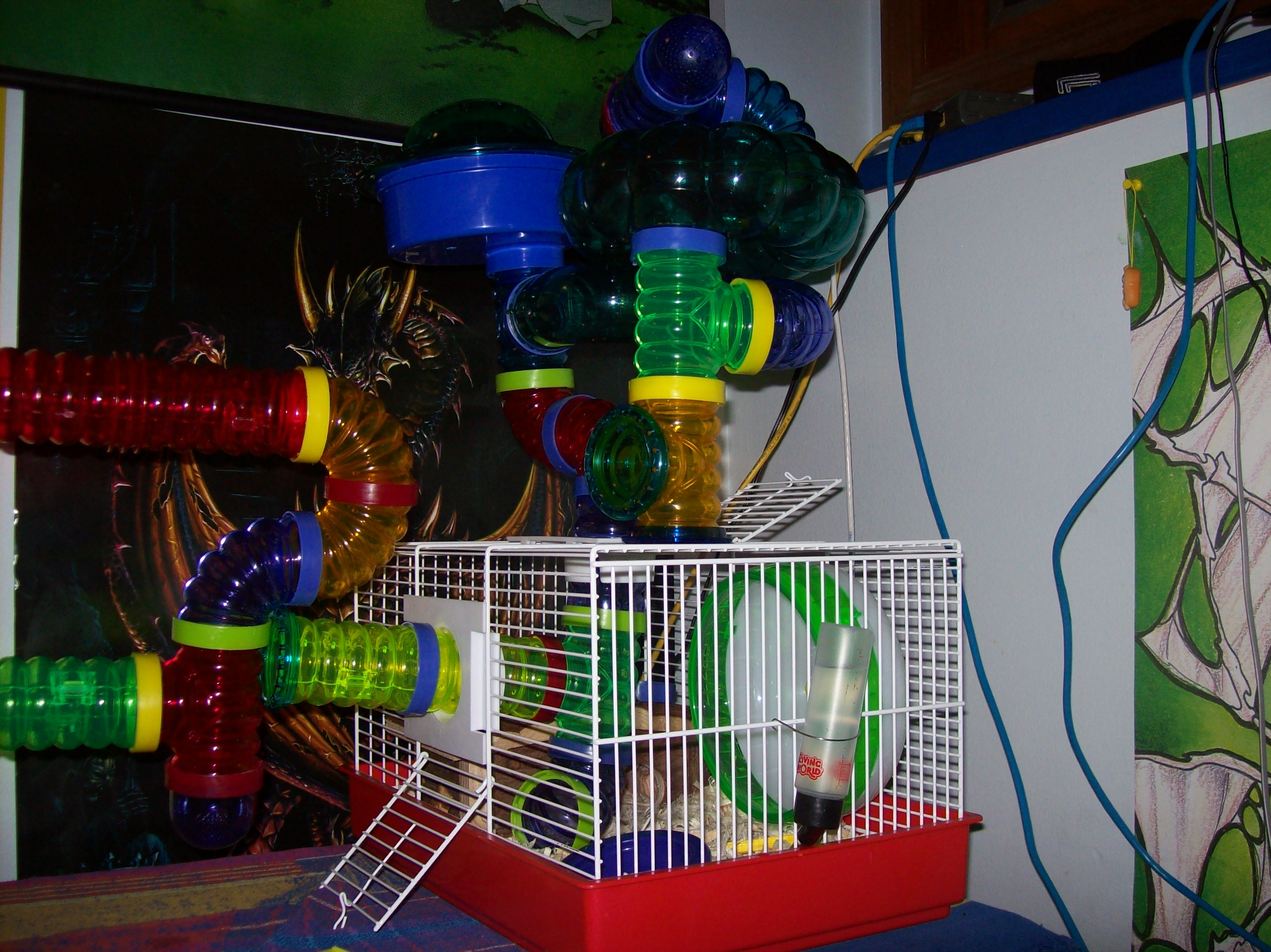 Romulus' First Cage