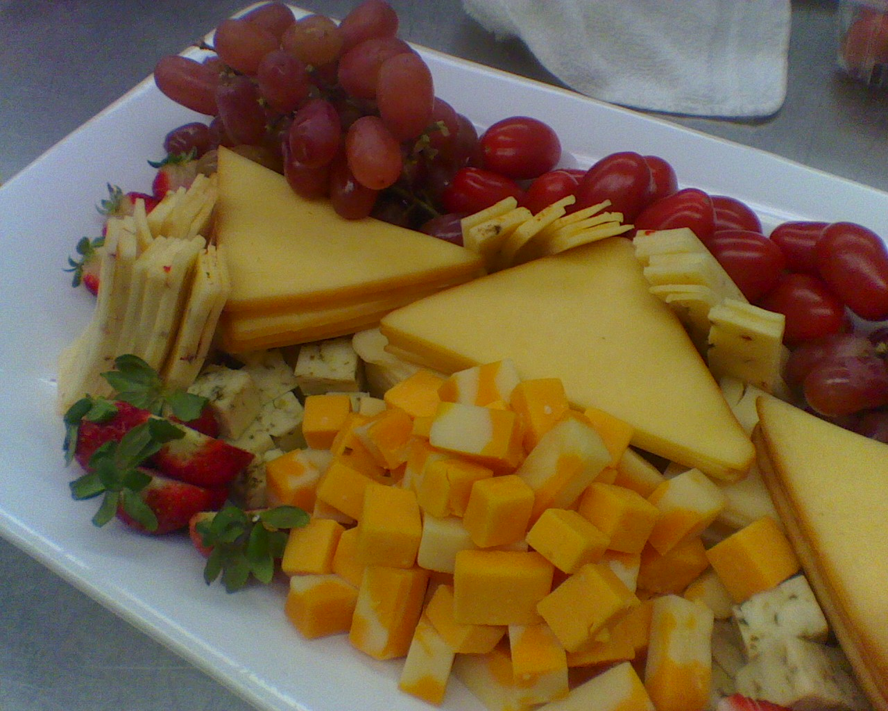 Cheese Plate I Put Together