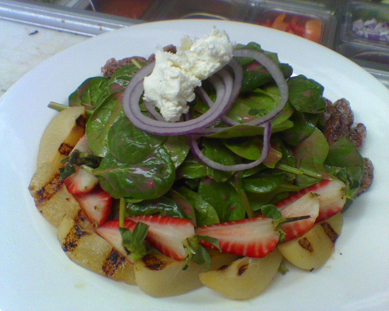 Spinach Salad With Chevre