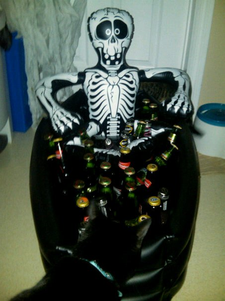 Beer Skeleton