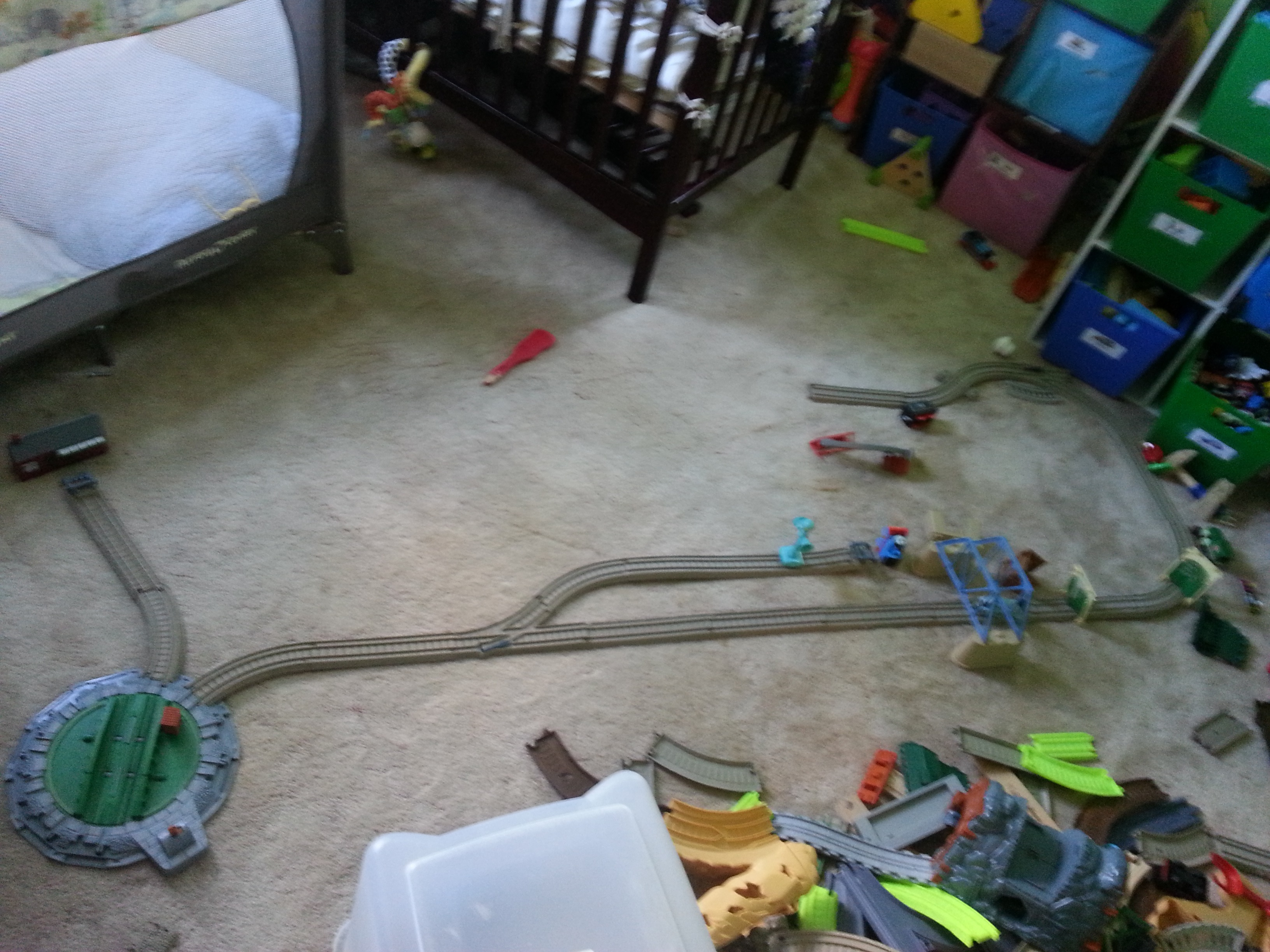 Train Tracks Ryder Built