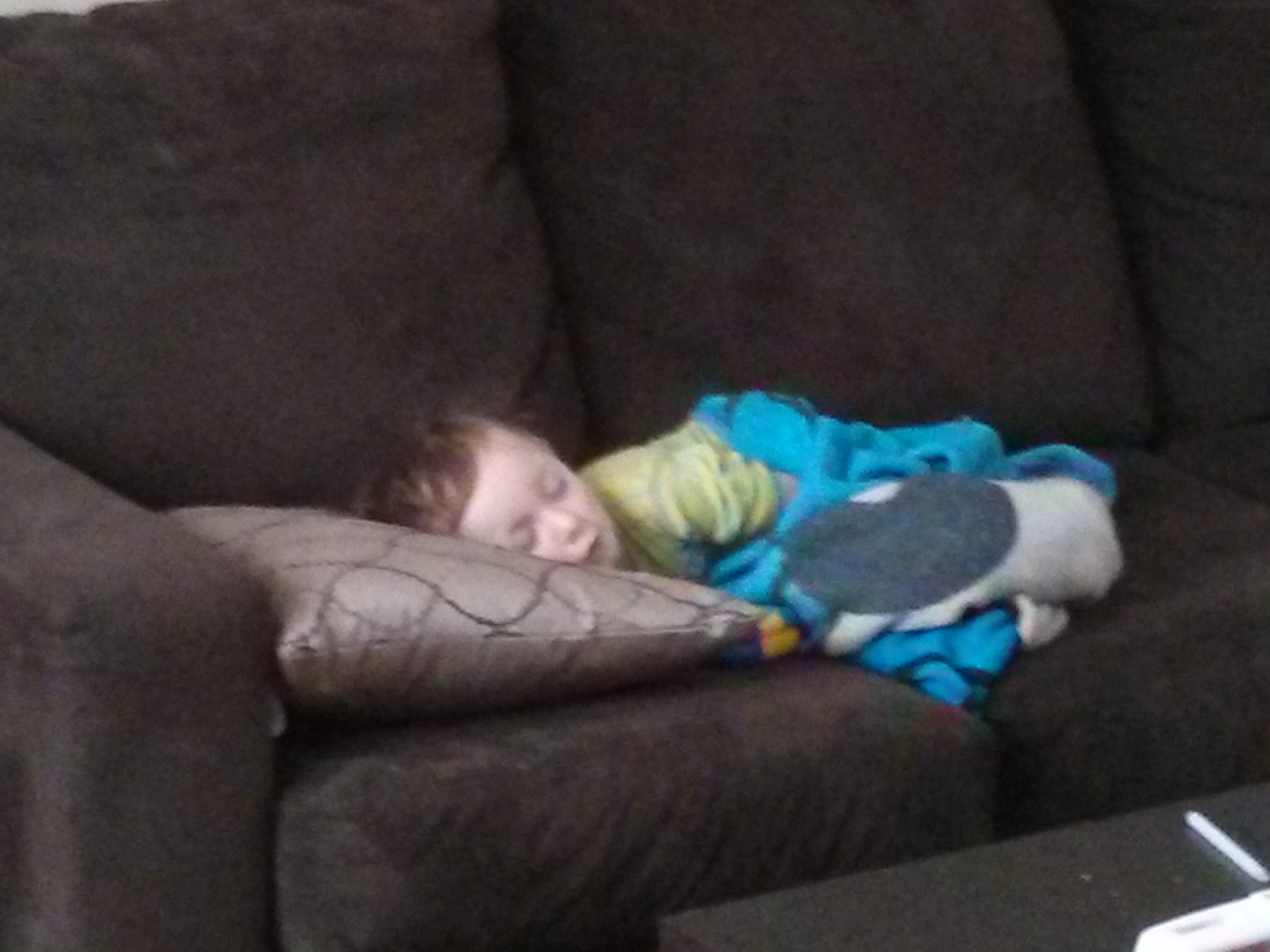 Ryder Passed Out On Couch