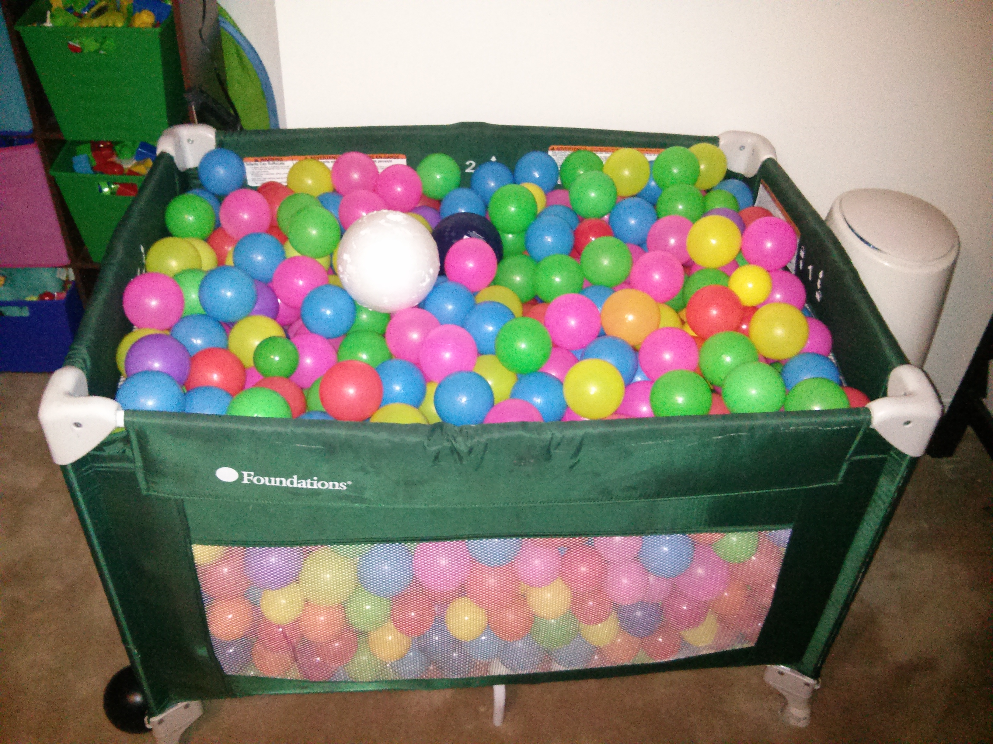 Ball Pit Full Of Balls