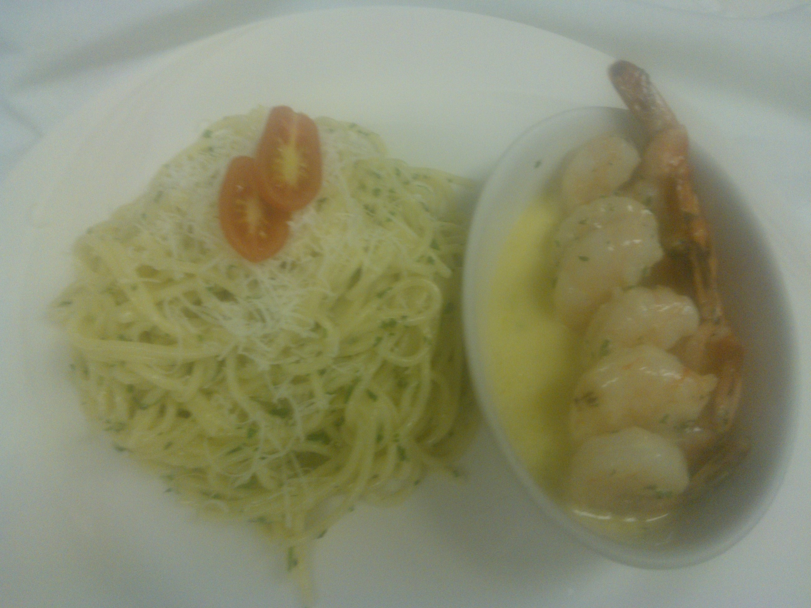 Sambuca Shrimp And Spaghetti