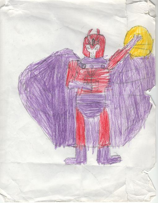 Drawing Of Magneto
